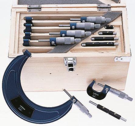 Metric External Micrometer Set