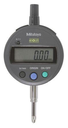 Mitutoyo 543-782 Plunger Dial Indicator, Range 0 → 0.5 in