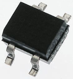 Vishay DF10SA-E3/77, Bridge Rectifier, 1A 1000V, 4-Pin DF-S