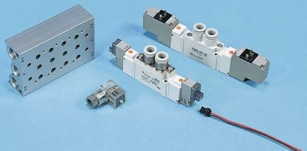 Pneumatic Solenoid/Pilot-Operated Control Valves | RS Components