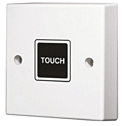 Touch timer light switch 20 min wall mount 2 way 1 gang 220 main product mozeypictures Choice Image