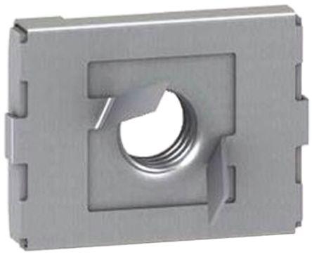P 1007 M8   Unistrut Channel Nut, M8, Nut Base Dimensions 41 x 41mm