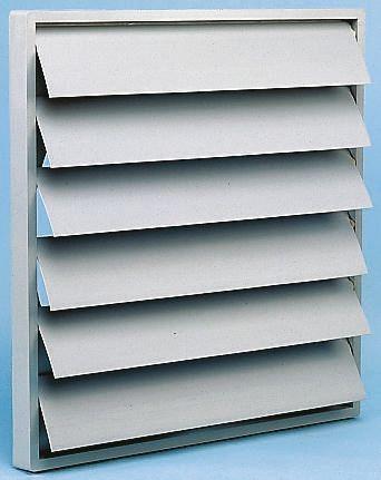 Backdraught shutter for axial fan 400mm