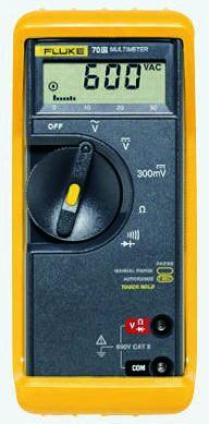 1639145 fluke 77 iii handheld digital multimeter 10a ac 1000v ac rh uk rs online com Fluke 77 Manual Service fluke 77 iv multimeter user manual