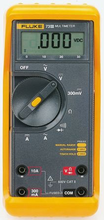 fluke 73 3 fluke 77 iii digital multimeter handheld 10a ac 1000v rh sg rs online com fluke 77 iii manual fluke 77 manual series ii