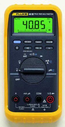 1639221 fluke 85iii digital multimeter rs components rh uk rs online com Fluke 81 fluke 83 iii manual