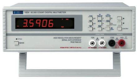 Aim-TTi 1604 Digital Multimeter Bench, 10A ac 750V ac 1000V dc 10A dc with RSCAL calibration
