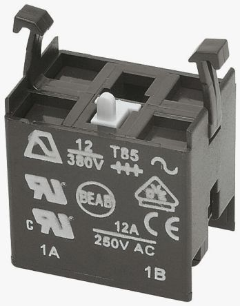Maintained Action, NO/NC Switch Block for use with A02 Series