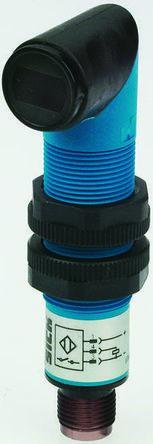 Sick Diffuse Photoelectric Sensor 100 mm Detection Range PNP IP67 Barrel Style VTF18-3F1812