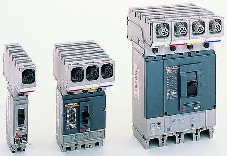 1 100 A MCCB Molded Case Circuit Breaker, Breaking Capacity 25 kA, Surface Mount Powerpact4 MGP product photo
