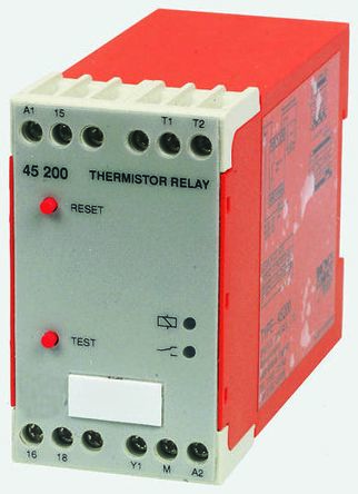 Broyce Control Temperature Monitoring Relay with SPDT Contacts, 110 V ac