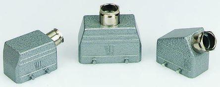 Kit De Conector Industrial De Potencia Entrada Lateral TE Connectivity HE 16 Pines, 16A, 380 Vac; 45 (5), 1-1102565-6