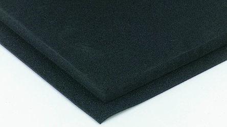 Black Polyethylene Foam, 1m x 2m x 10mm