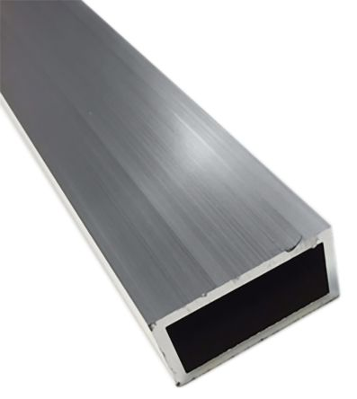 6063 T6 Rectangular Aluminium Tube, 1m x 4in x 2in, 10SWG product photo