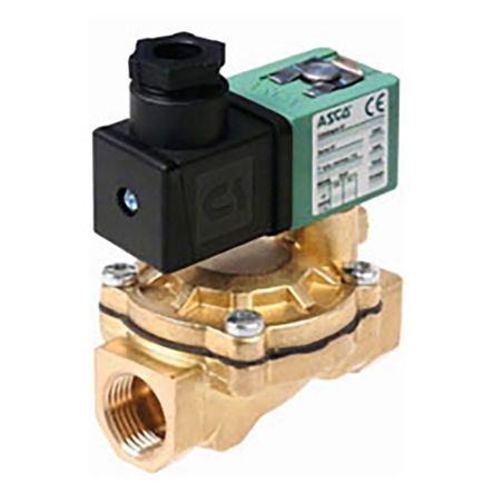 Válvula de solenoide Asco SCE238D004.24/50-60, 2 puertos , 24 V ac, 3/4plg