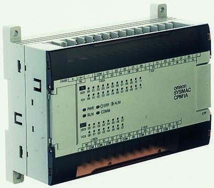 Omron CPM1A PLC CPU, DeviceNet Networking Computer Interface, 2048 Words  Program Capacity, 18 (DC) Inputs