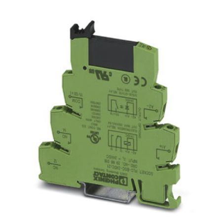Interface Relay Module, Max. Forward 24 V, Max. Input 8.5 mA, 80mm Length, DIN Rail Mounting Style product photo