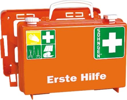 Wall Mounted First Aid Kit, 260 mm x 170mm x 110 mm product photo