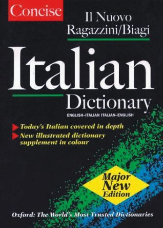 Book,Concise oxford italian dictionary | Oxford University Press | RS  Components India