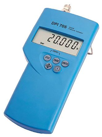 Druck DPI 705 Manometer With 1 Pressure Port/s, Max Pressure Measurement 20bar