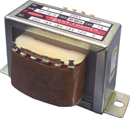 Aihara Denki 12VA Autotransformer, 200 V ac, 220 V ac Primary, 10 V ac, 12 V ac, 6 V ac, 8 V ac Secondary
