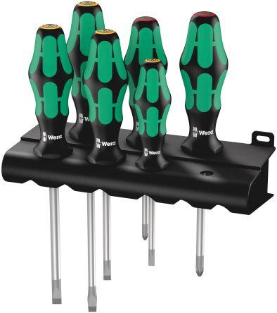 6 Pc Wood Handle Cabinet Flat Screwdriver Tool Set Woodworker/'s