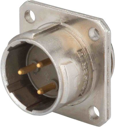12 Way Panel Mount MIL Spec Circular Connector Receptacle, Pin Contacts, MIL-DTL-5015 product photo