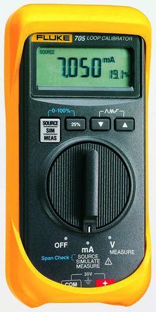 Fluke 705, 24mA Current Loop Calibrator - RS Calibration