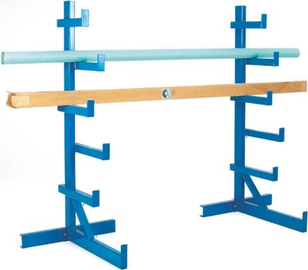 RS PRO Blue Steel Storage Rack, 1832mm x 840mm x 890mm