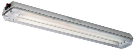 2 x 36 W Light Fitting, 1, 2, Fluorescent, Temp T4, 120 → 240 V ac