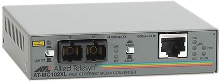 Allied Telesis MC102XL 2 Port Media Converter