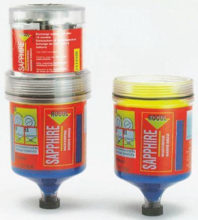 Rocol Lubricant Oil 120 ml Sapphire Lubricator Cartridge