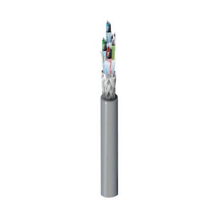 Belden 4 Pair Screened Multipair Industrial Cable 0.23 mm²(Euroclass Eca) Chrome 152m