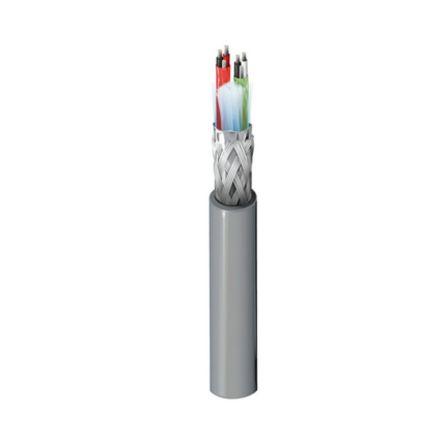 Belden 2 Pair Screened Multipair Industrial Cable 0.23 mm²(Euroclass Eca) Grey 152m