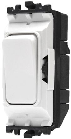 k4892 whi | white 20 a toggle light switch mk white, 2 way clip in, Wiring diagram
