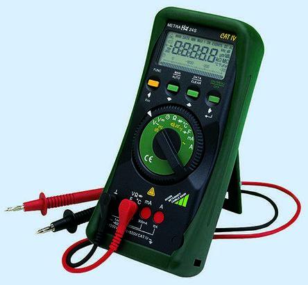 Gossen Metrawatt M222F Handheld Digital Multimeter With RSCAL calibration ,  10A ac 1000V ac 10A dc 1000V dc