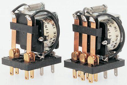 3PCO open-frame relay,10A 12Vdc coil