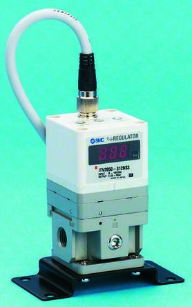 Smc itv2050-312n-x153 regulator, electro-pneumatic, it2000/itv2000.