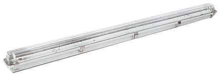 1 x 58 W, Anti-Corrosive Light Fitting, 2, Fluorescent, Temp T4, 240 V ac