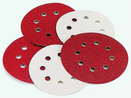 Coated Finishing Disc 2 in Disc Dia 180 Grit Aluminum Oxide 174 Units