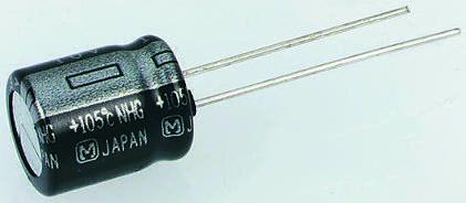 100pcs panasonic  NHG 33UF 63V 33mfd electrolytic Capacitor 6.3*11mm 105°C