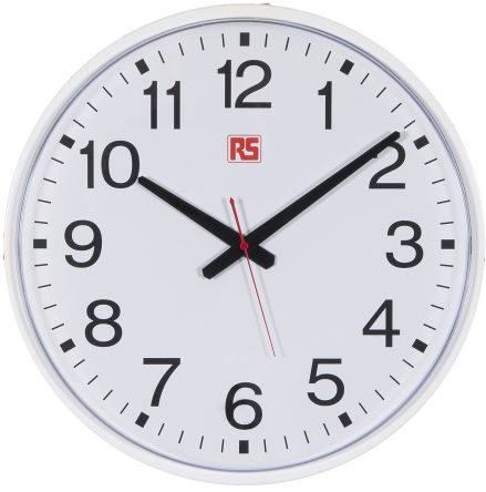 White Wall Clock, 435mm product photo