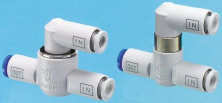 Pneumatic Logic Element Function Fitting VR12 Series, 8mm Tube, 1 MPa Max Operating Pressure product photo