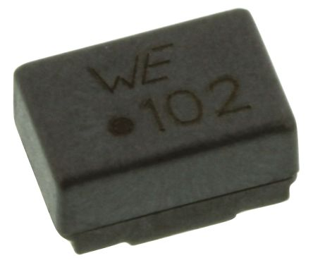 Wurth, WE-SL2 Wire-wound SMD Inductor with a Ferrite Core, 1 mH ±50% Dual 800mA Idc