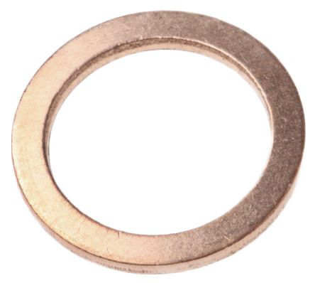 Copper washer for push-in fitting,1/4in