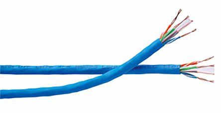 Blue LSZH Datatwist Cat6 UTP cable,304m