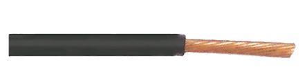 TE Connectivity 100m ACW Automotive Wire 0.5 mm² CSA Black Flame Retardant, Low Smoke Density, Self-extinguishing, 50 V