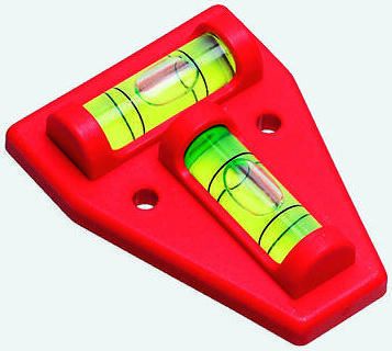Plastic cross test spritlevel,60x45x14mm
