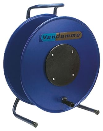 RS PRO Empty Cable Reel 40mm (H) x 120 mm (W) diameter 380mm in Steel