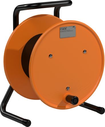 RS PRO Empty Cable Reel 30mm (H) x 100 mm (W) diameter 240mm in Plastic